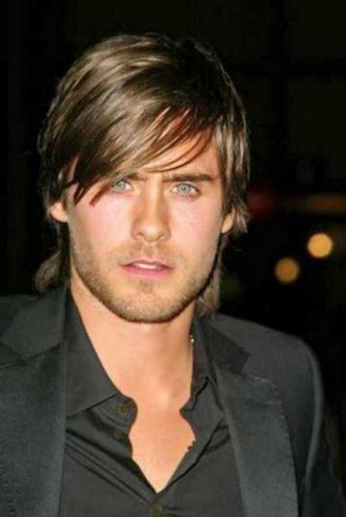 Mens Straight Hairstyles for Long Face