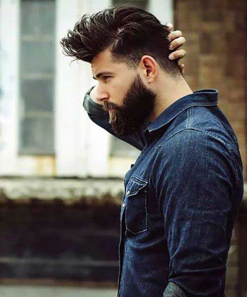 Pics of Men Dark Hairstyles