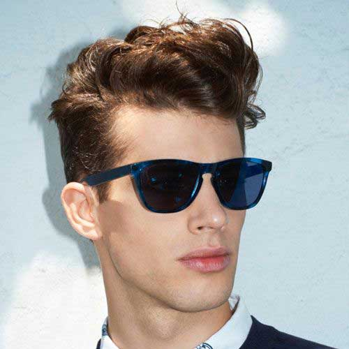 Best Quiff Haircuts for Wavy Hair Men