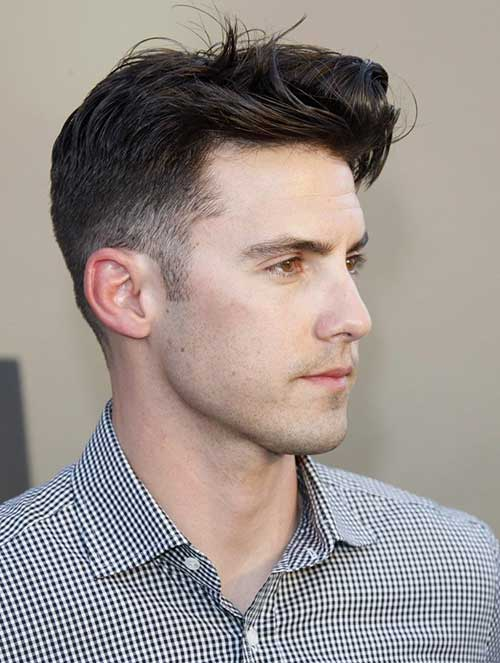 short back long front hairstyles : 20 Short Hair for Men Mens Hairstyles 2016