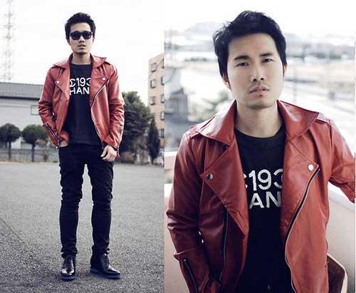 Short Asian Casual Hairstyles Men