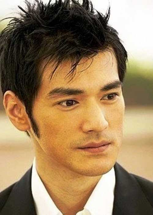 Short Asian Cool Hairstyles Men