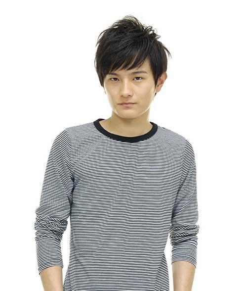 Short Asian Straight Hairstyles Men