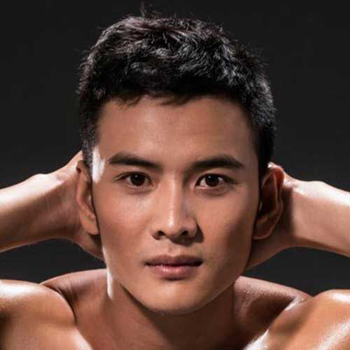 Short Asian Thick Hairstyles Men