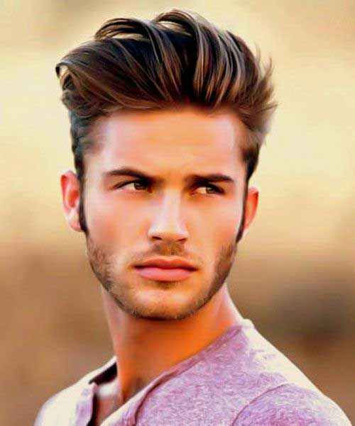 Short Brown Hair Color for Men