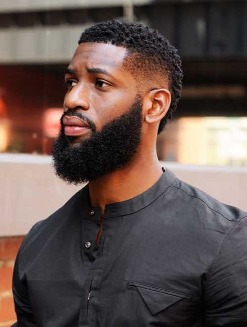 Short Fade Style Haircuts for Black Men