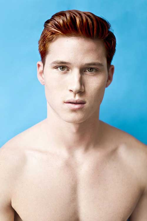 Short Ginger Haircuts for Men