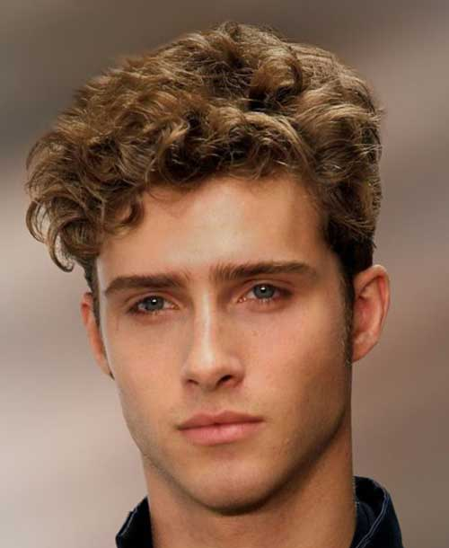 Cool Short Haircuts Men Curly Hair