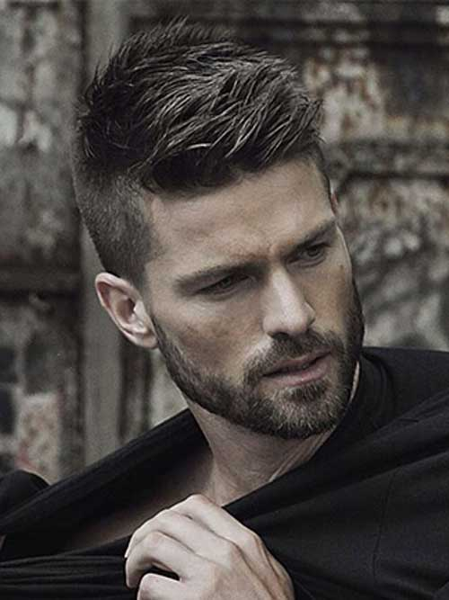 Short Haircuts with Long Top for Men