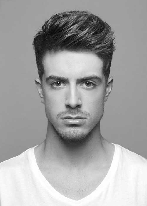 Short Pompadour Haircuts for Men