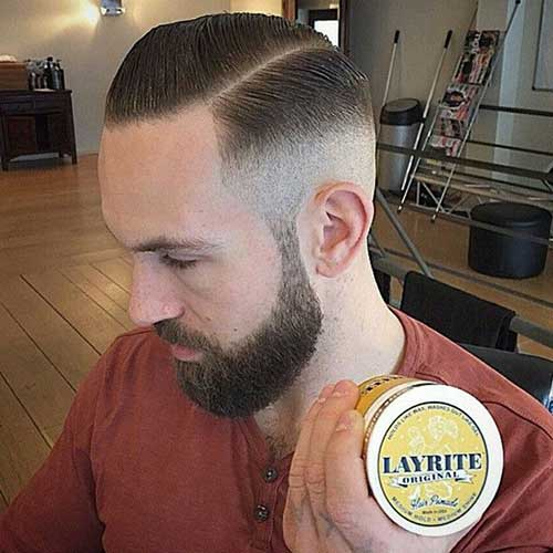 Short Side Shaved Haircuts for Men