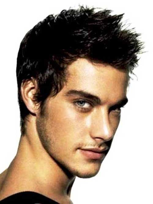 Short Spiky Mens Hairstyles
