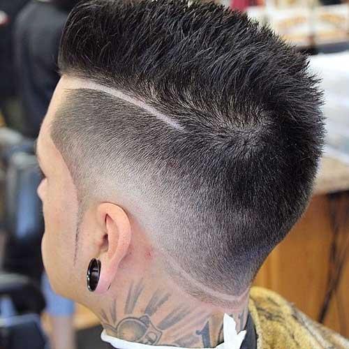Short Spiky Undercut Hairstyles for Men