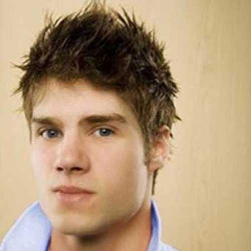 Cool Short Spiky Mens Hairstyles