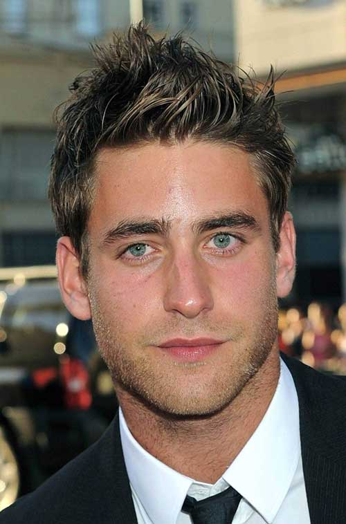 Good Short Spkiy Haircuts for Men