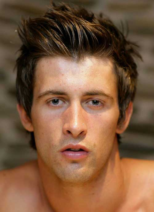 Short Thick Hairstyles for Guys