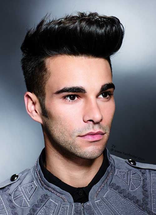 Simple Quiff Hairstyles for Men