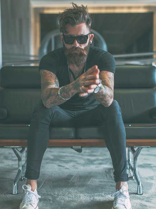Hipster Style of Haircut for Men