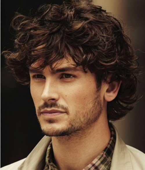 Best Haircuts For Men With Long Curly Hair 105