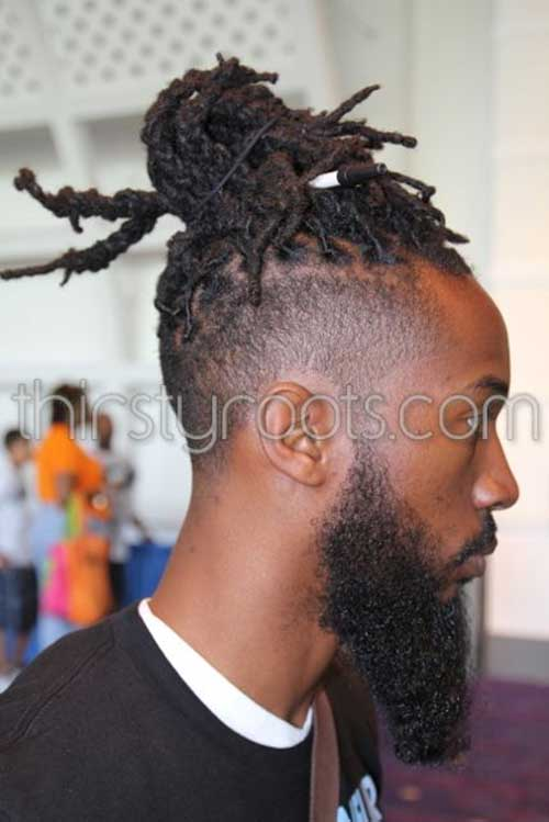 Tapered Dreads Hairstyles for Black Men
