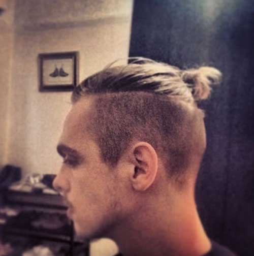 Top Knot Men Hairstyles