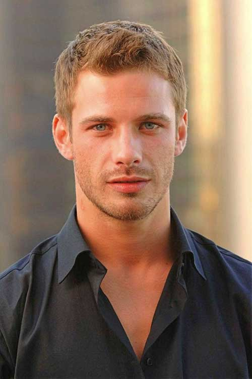 Trendy Curly Short Haircuts for Guys