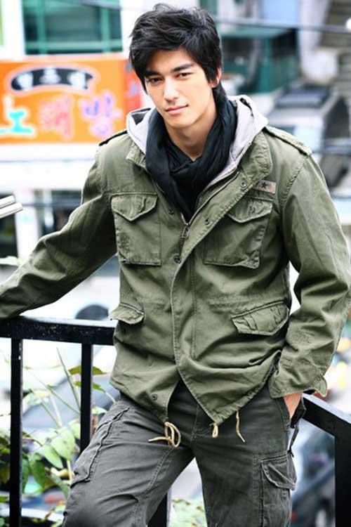 Trendy Korean Hairstyles for Men