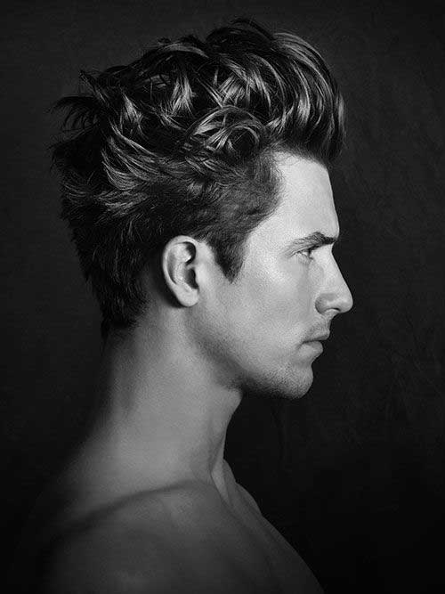Trendy Medium Hairstyles Men