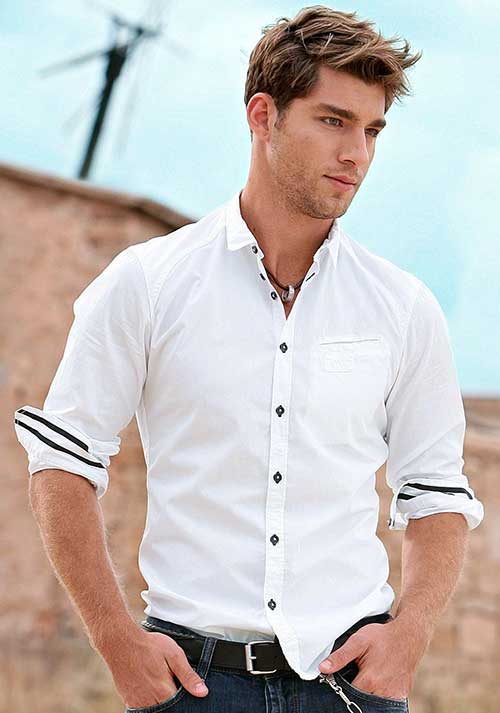 Cool Trendy Short Haircuts for Guys