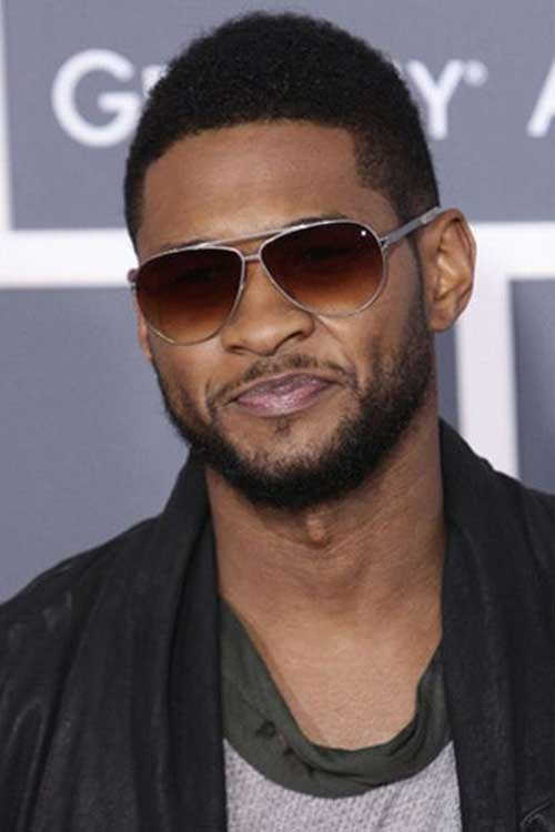 Usher Haircuts for Black Men