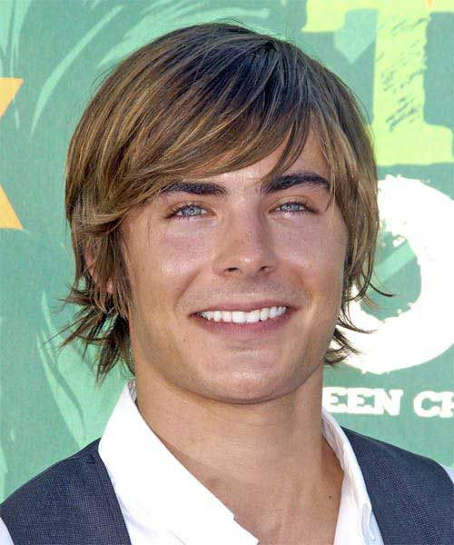 Zac Efron Medium Hairstyles