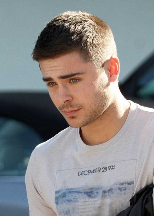 Zac Efron Shaved Short Hairstyles