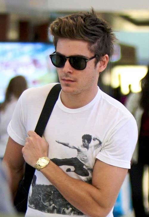Zac Efron Trendy Short Hair