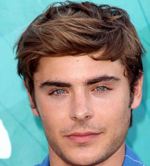 Zac Efron Straight Casual Hairstyles