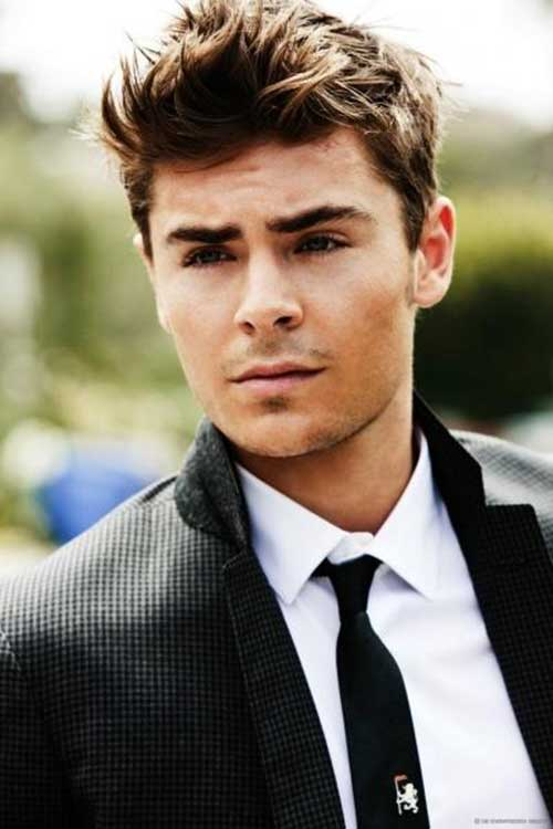 Zac Efron Trendy Short Hairstyles