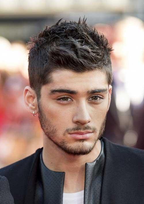 Zayn Malik Short Hairstyles For Men