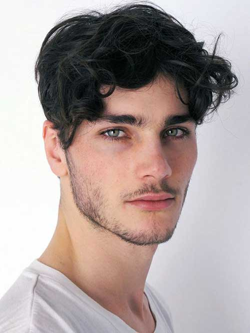 Haircuts for Men with Curly Hair-14