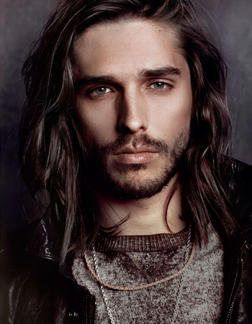Long Hairstyles for Men-16