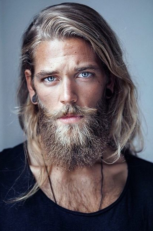 Long Hairstyles for Men-17