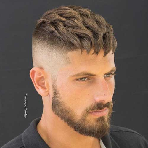 Coolest Mens Tapered Haircut Mens Hairstyles 2018