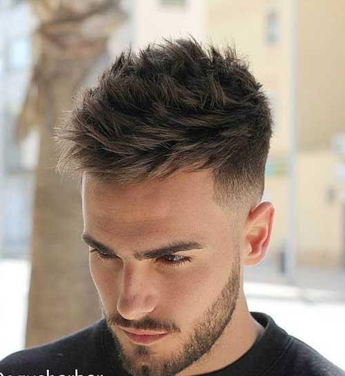 Mens Tapered Haircut-19