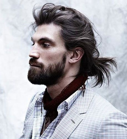 Long Hairstyles for Men-24