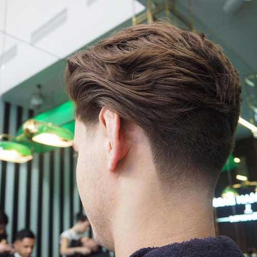 Mens Tapered Haircut-7