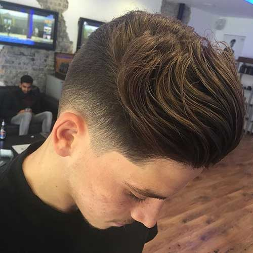 Mens Tapered Haircut-8