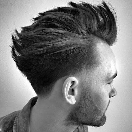Mens Tapered Haircut-9
