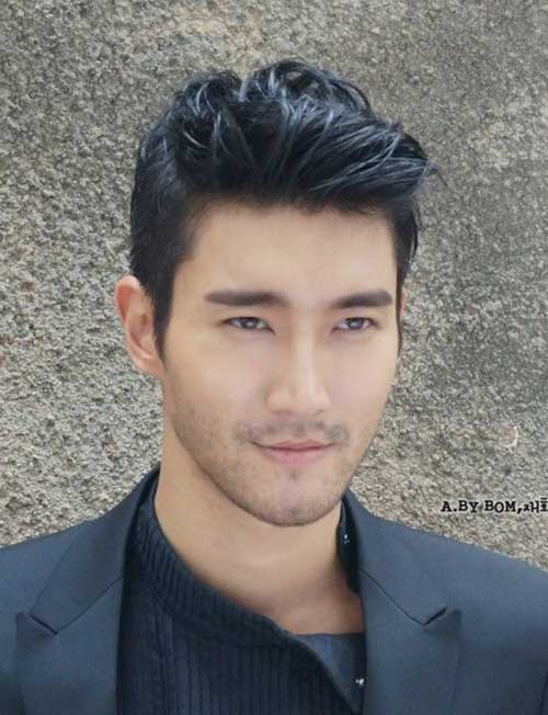 hairstyle men asian-#4