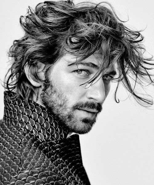 Longer Hairstyles for Men