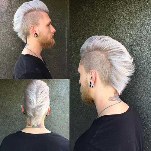 Stylish Mohawk Hairstyles For Men Mens Hairstyles 2018
