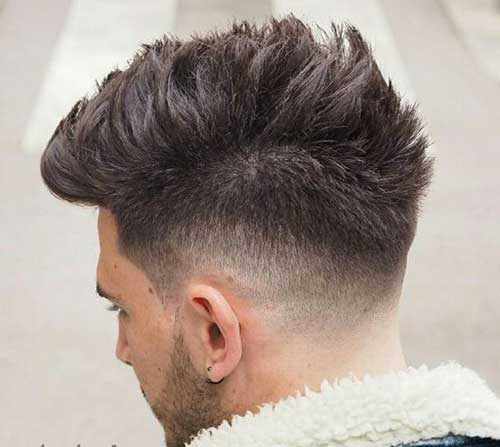 Mens Tapered Haircut
