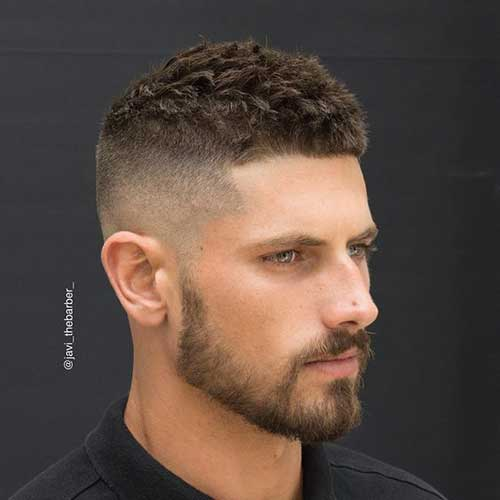 coolest mens tapered haircut mens hairstyles 2018. Black Bedroom Furniture Sets. Home Design Ideas